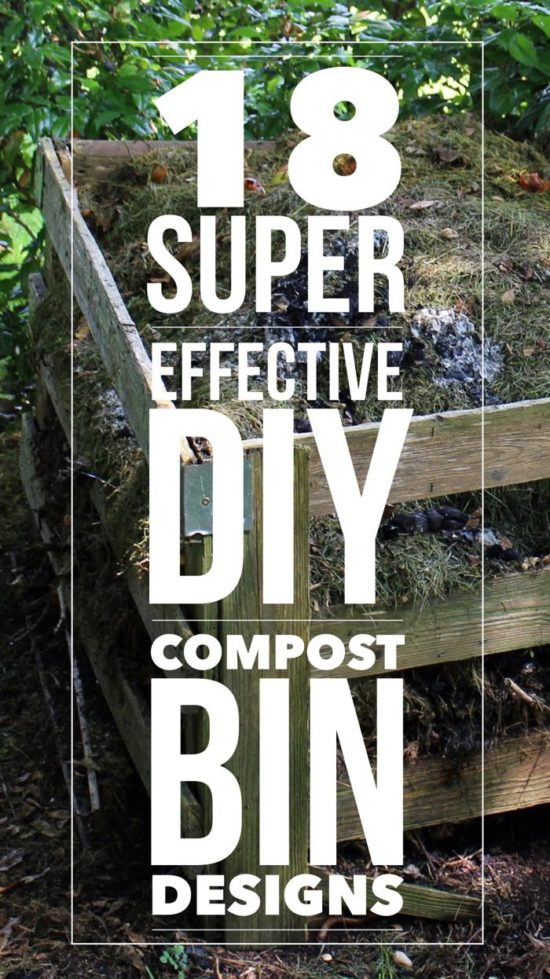 18 awesome composter compost bin designs for DIY