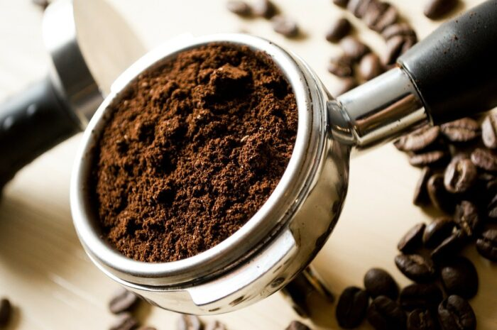 coffee grounds can be composted